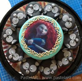 Valiente con cupcakes