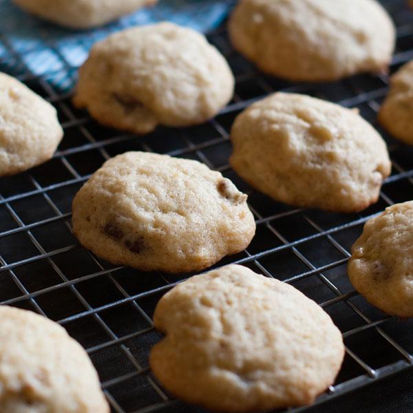 pastel-galletas-de-nuez-platano-preparacion