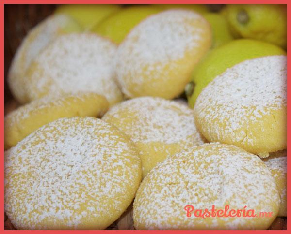 galletas de limon