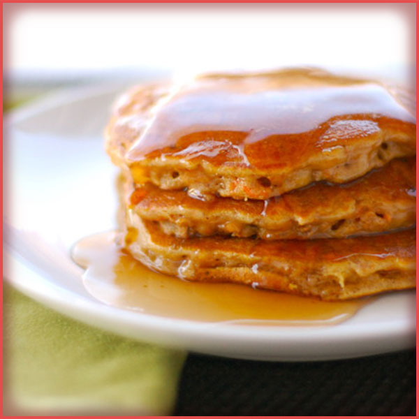 Pancakes Manzana