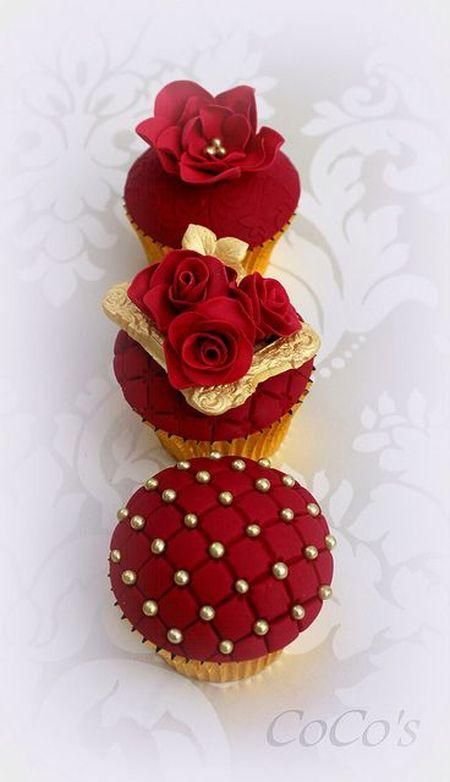 18 Cupcakes Para Regalar En San Valentín Segunda Parte