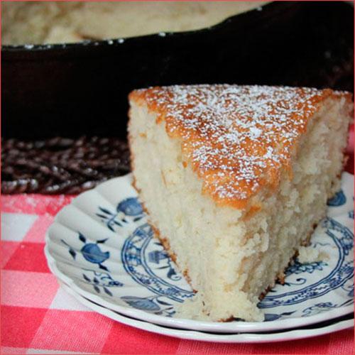porcion de pastel tradicional