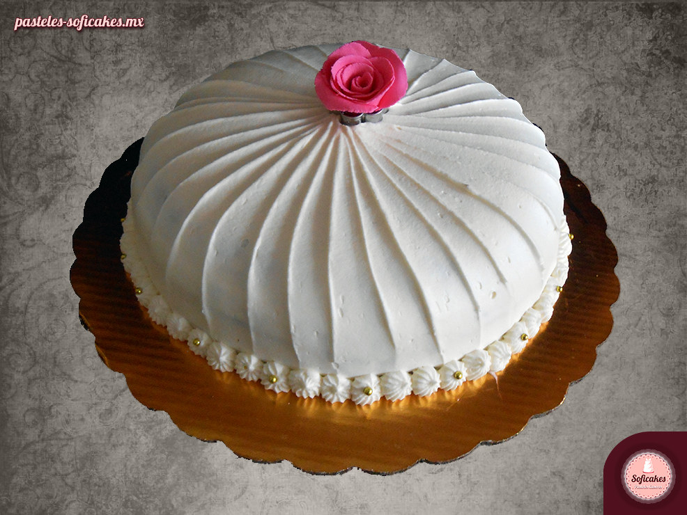 Pastel Imperial de chocolate y rosas  Pasteles Caseros