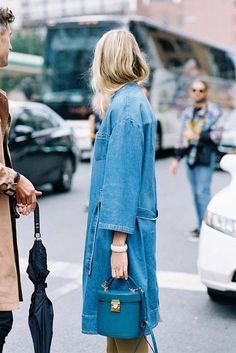 Pastels and stripes_denim coat