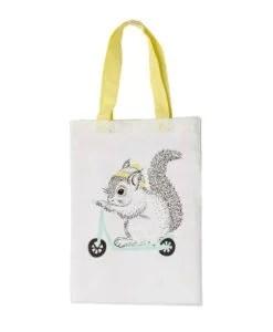 Tote bag écureuil Bloomingville