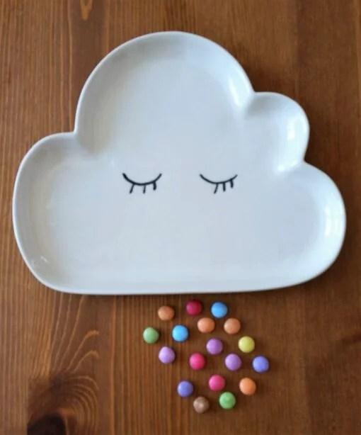 Assiette nuage Bloomingville