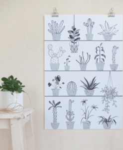 Affiche Botanic Audrey Jeanne