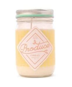 Bougie melon Produce Candles