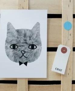 Carte The Sweetest Cat Audrey Jeanne
