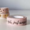 masking tape girls rose
