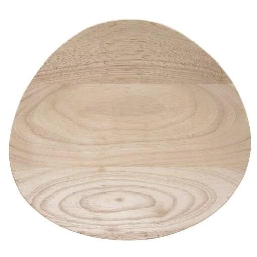 Plat Bloomingville bois naturel