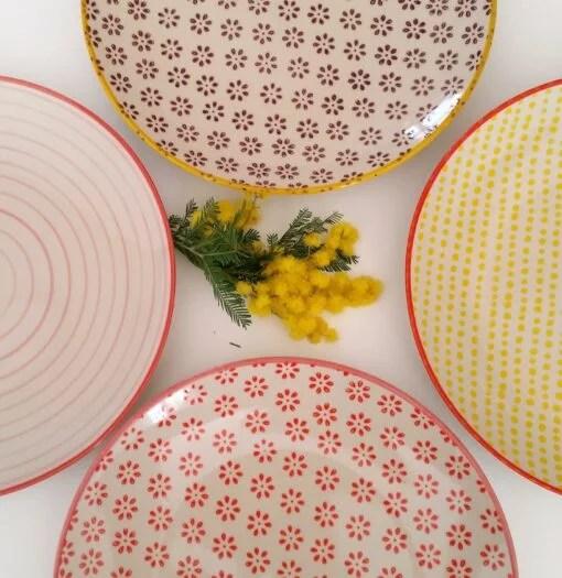 Assiettes Bloomingville Susie (20cm) x4