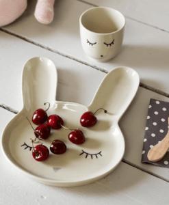 Assiette lapin Bloomingville Mini