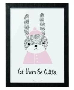 Cadre Bloomingville Mini «Let them be little»