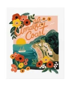 Affiche Rifle Paper Co Amalfi Coast