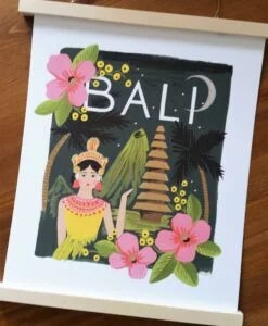 Affiche Rifle Paper Co Bali