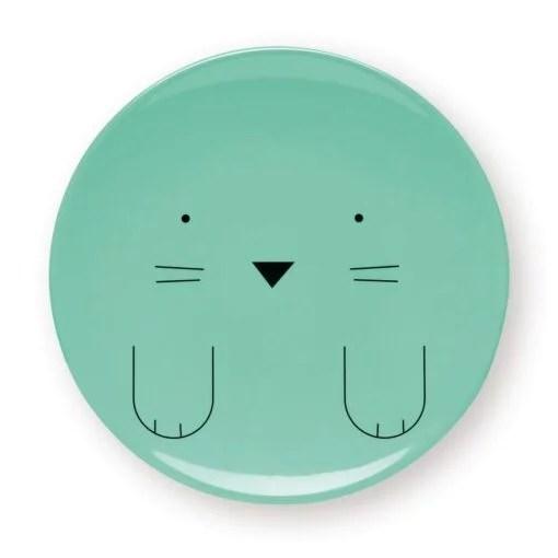 Assiettes animaux Bandjo x4