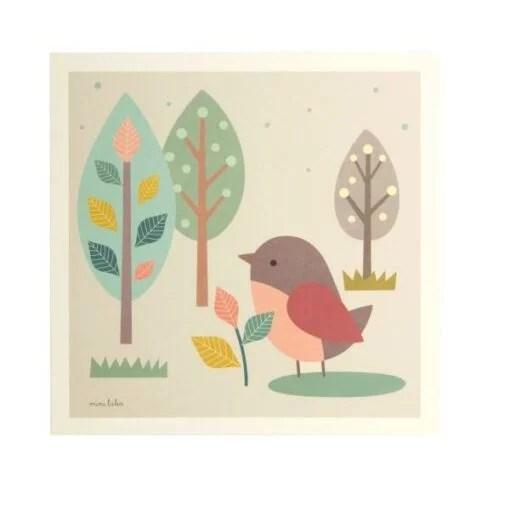 Affiche Oiseau piaf Mini Labo