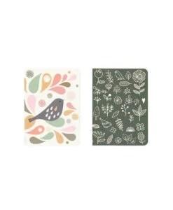 Lot de 2 carnets Mini Labo Oiseaux