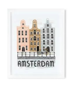 Affiche Amsterdam Rifle Paper