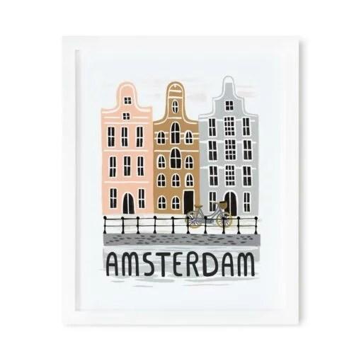 Affiche Amsterdam Rifle Paper