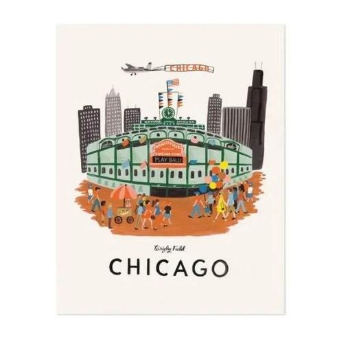 Affiche Chicago Rifle Paper Co