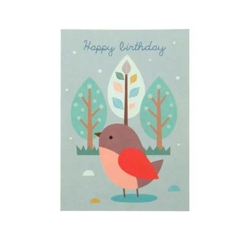 Carte anniversaire Mini Labo Piaf