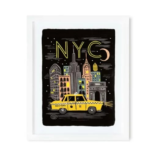 Affiche New-York Rifle Paper Co