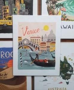 Affiche Venise Rifle Paper Co