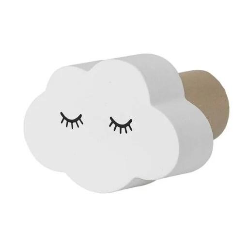 Patère nuage endormi Bloomingville Mini