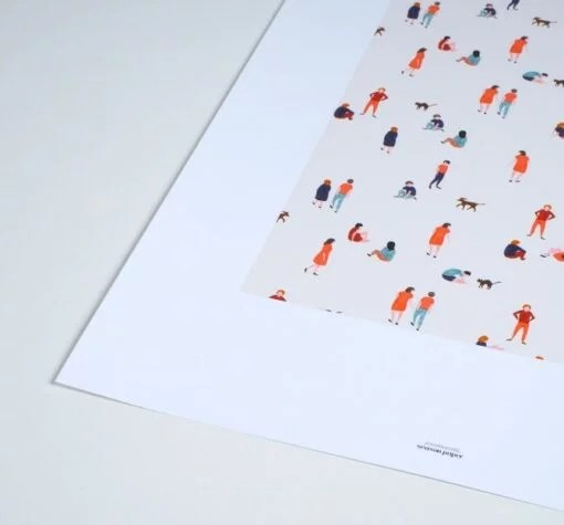 Affiche Promenade Season Paper – Format A3 ou A4