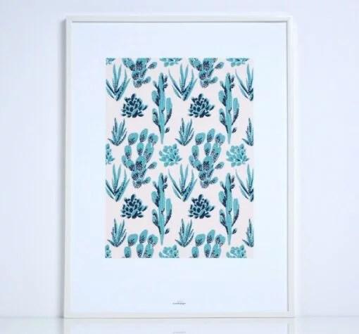 Affiche Cactus Season Paper