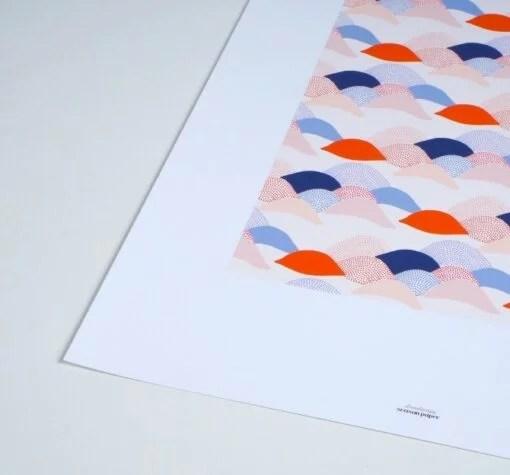 Affiche Landscape Season Paper