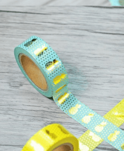 Masking tape Ananas Mint
