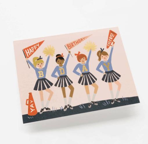 Carte anniversaire Cheerleader Rifle Paper