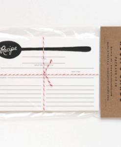 Fiches recettes Rifle Paper Co Spoon (set de 12)