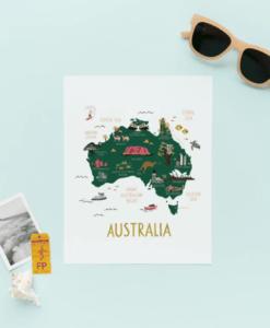 Affiche Rifle Paper Co Australie