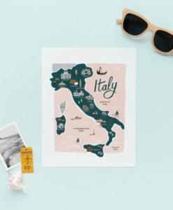Affiche Rifle Paper Co Italie