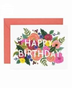 Carte anniversaire Flowers Rifle Paper Co