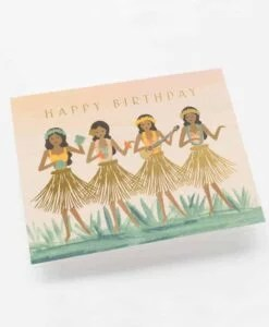 Carte Rifle Paper Co Hula Birthday