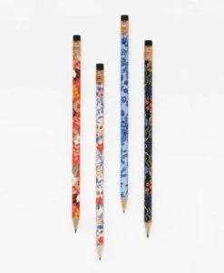 Crayons à papier Rifle Paper Co Floral (set de 12)