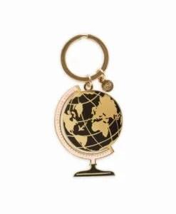 Porte-clé Rifle Paper Co Globe