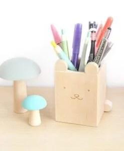 Pot à crayons Ours Briki Vroom Vroom