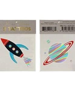 Tatouages Espace Meri Meri x2