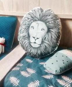 Coussin Lion Minimel