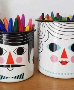 Pots personnages Ingela Arrhenius / Omm Design x2