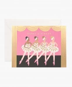 Carte anniversaire Rifle Paper Co birthday ballet