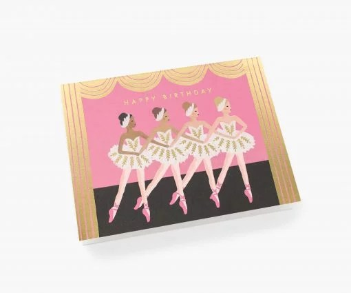 Carte anniversaire Rifle Paper Co birthday ballet