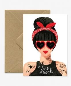 Carte Hipster Girl All the Ways to Say