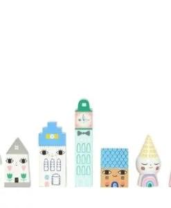 Figurines maison en bois Suzy's city